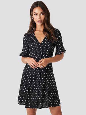 Rut & Circle Polly Dot Dress svart