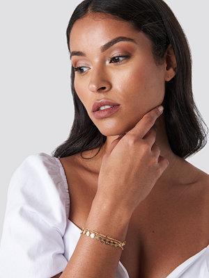 NA-KD Accessories smycke Mini Ornament Bracelet guld