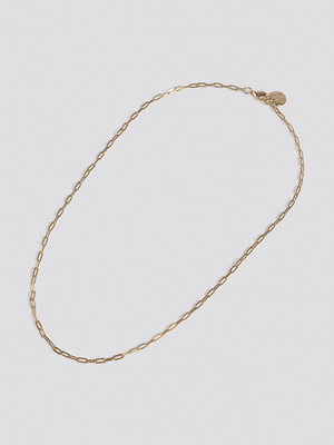 NA-KD Accessories smycke Fine Chain Necklace guld