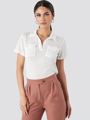 Trendyol Collar Pocket Detailed Tee vit