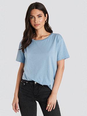 NA-KD Basic Basic Oversize T-Shirt blå