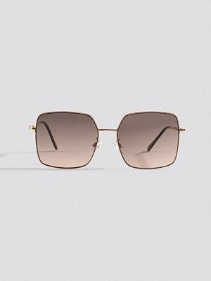 Mango Manuelas Sunglasses brun