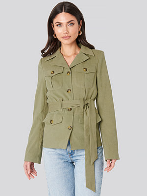 NA-KD Trend Detailed Blazer grön