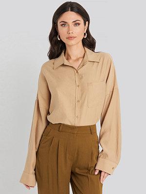 Beyyoglu Oversize Modal Shirt beige