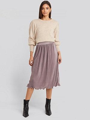 NA-KD Trend Pleated Detailed Hem Skirt lila