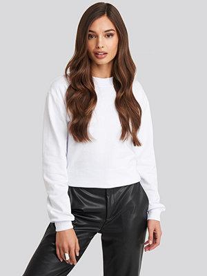Tröjor - NA-KD Basic Basic Sweater vit