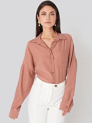 Beyyoglu Oversize Modal Shirt rosa