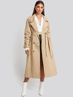 Hoss x NA-KD Oversize Trenchcoat beige