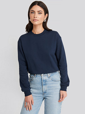 NA-KD Basic Basic Sweater blå