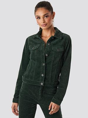 Rut & Circle Nova Cord Jacket grön
