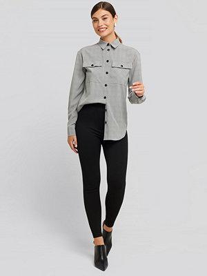 Leggings & tights - NA-KD High Waist Jersey Pants svart