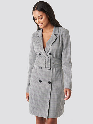 Rut & Circle Vendela Blazer Dress grå