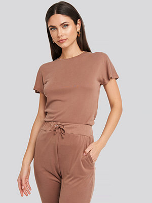 Trendyol Basic Jersey Tee brun