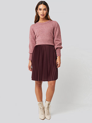 NA-KD Short Pleated Skirt lila