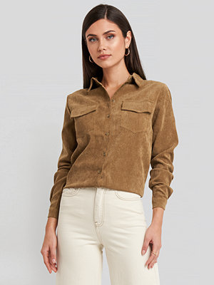 Sisters Point Vester Shirt brun