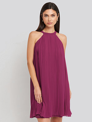 Trendyol Mini Pleated Detail Dress lila