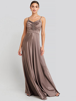 Festklänningar - Trendyol Neckline Detailed Evening Dress lila