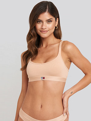 Tommy Hilfiger Flag Core Cotton Bra beige