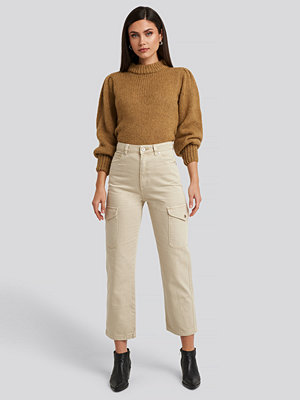 Abrand A Venice Straight Jeans beige