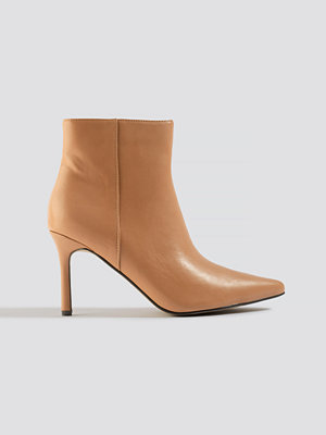 NA-KD Shoes Pointy Stiletto Boots beige