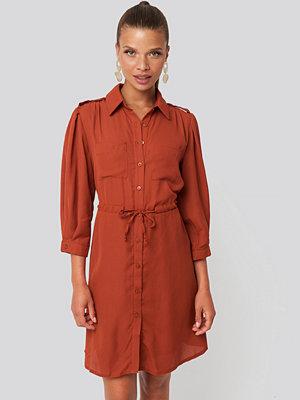 Trendyol Mini Binding Dress röd