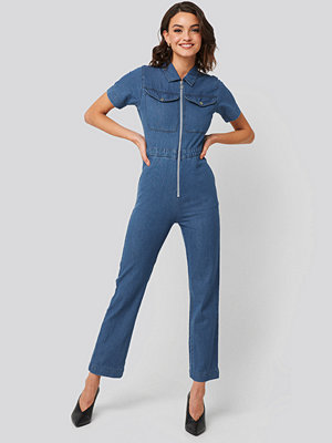 Jumpsuits & playsuits - Abrand A Kim Overall Top blå