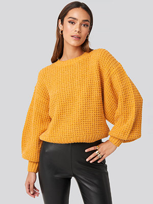 Rut & Circle Siri Balloon Knit gul