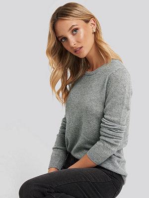 Sparkz Pure Cashmere O-Neck Pullover grå