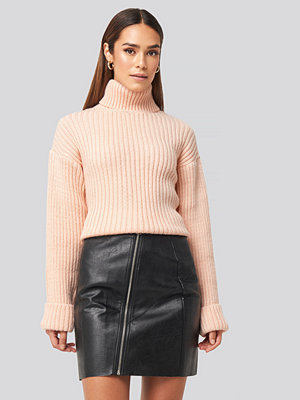 Rut & Circle Nellie PU Skirt svart