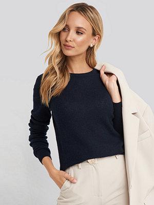 Sparkz Pure Cashmere O-Neck Pullover blå