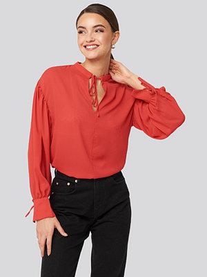 Trendyol Binding Detailed Blouse röd