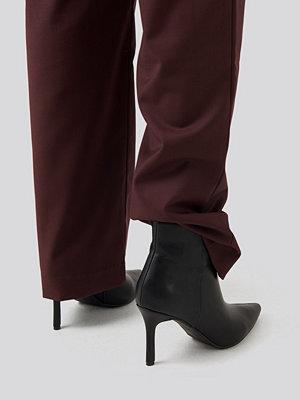 Pumps & klackskor - NA-KD Shoes Pointy Stiletto Boots svart