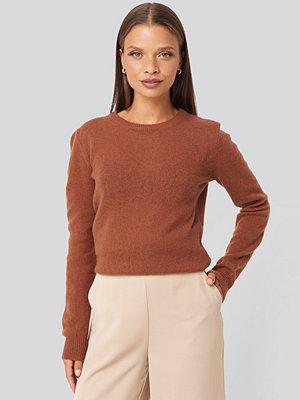 Sparkz Pure Cashmere O-Neck Pullover brun