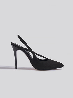 Pumps & klackskor - Trendyol Black Suede High Heels svart