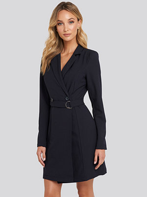 Trendyol Binding Detailed Blazer Dress blå