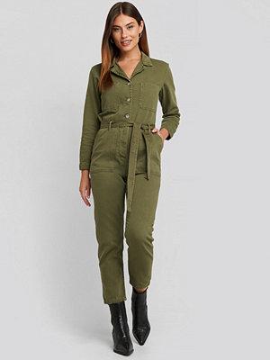 Mango Army One-Piece Suit grön