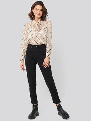 Jeans - Mango Mom Jeans svart