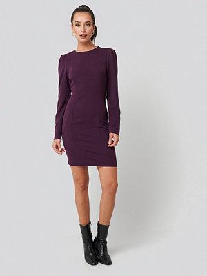 Trendyol Mini Puff Sleeve Dress lila