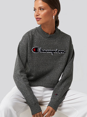 Champion High Neck Sweatshirt grå