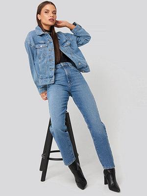 Abrand A 94 High Slim Jeans blå