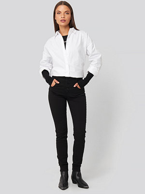 Jeans - Abrand A High Skinny Ankle Basher Jeans svart