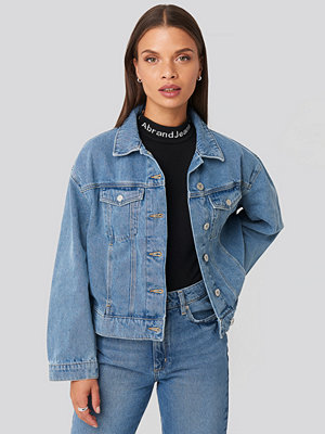 Abrand A Bonnie Denim Jacket blå