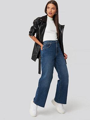 Jeans - Abrand A Street Aline blå
