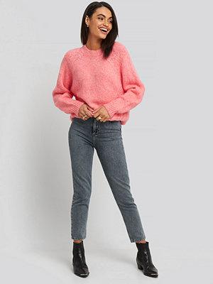 Jeans - Trendyol Bel Mom Jeans grå blå
