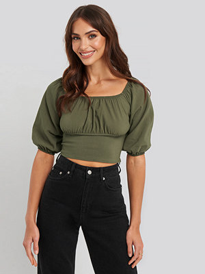 Trendyol Yol Crop Top grön