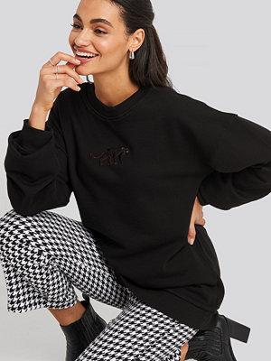 NA-KD Panther Sweatshirt svart