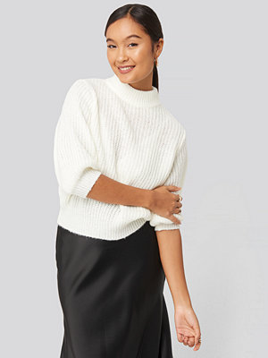 Statement by NA-KD Influencers Felicia Wedin Mid Sleeve Knitted Sweater vit