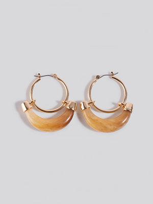 Mango smycke Orleans Earrings guld