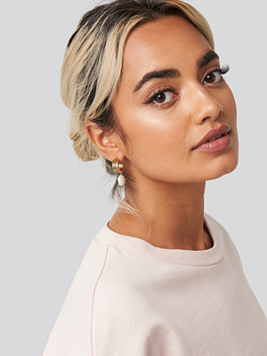 NA-KD Accessories smycke Vintage Pearl Earrings guld