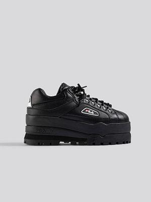 Sneakers & streetskor - Fila Trailblazer Wedge Wmn Sneaker svart